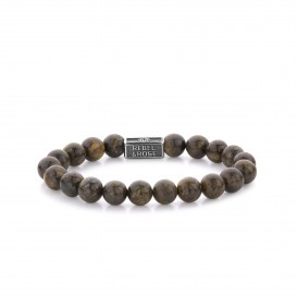 Rebel and Rose RR-8S003-S-L Armband Bronzite Brown 925 - 8mm L 8mm 19.0
