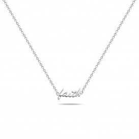 Rebel and Rose RR-NL006-S-49 Collier Necklace Faith-Hope-Love Silver 925 - 42cm S