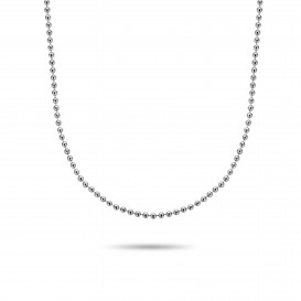 Rebel and Rose RR-NL021-S-52 Collier Necklace More Balls Than Most (52cm) M