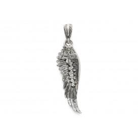 Silk Jewellery S13 Hanger zilver