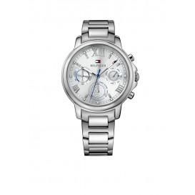 Tommy Hilfiger Claudia TH1781741 Horloge Staal Zilverkleurig Dames