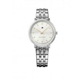Tommy Hilfiger Pippa TH1781762 Horloge Staal Zilverkleurig Dames