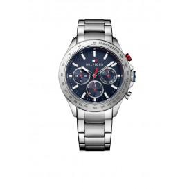 Tommy Hilfiger Hudson TH1791228 Horloge Staal Zilverkleurig Heren