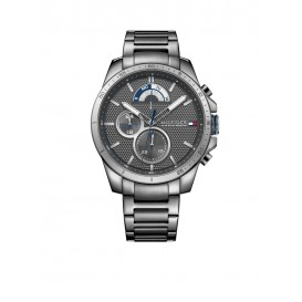 Tommy Hilfiger Decker Herenhorloge TH1791347 Grijs