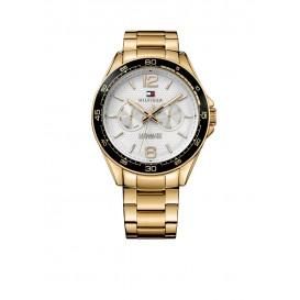 Tommy Hilfiger TH1791365 Horloge Staal geelgoudverguld Goudkleurig Heren