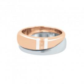 Tommy Hilfiger TJ2700644C Ring Bicolour Dames