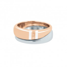 Tommy Hilfiger TJ2700644D Ring Bicolour Dames