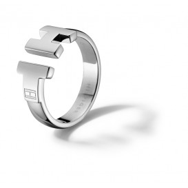 Tommy Hilfiger TJ2700864B Ring Zilverkleurig Dames