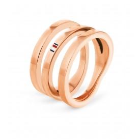 Tommy Hilfiger TJ2701099 Ring rosékleurig Dames