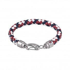 Tommy Hilfiger TJ2790046 Armband  Rood/wit/blauw Heren