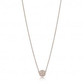 Pandora Rose 380523CZ-45 Collier Vintage Allure zilver rosekleurig 45 cm-1