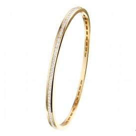 TFT Slavenband Goud Diamant 1.05ct H SI 3,5 X 60 mm