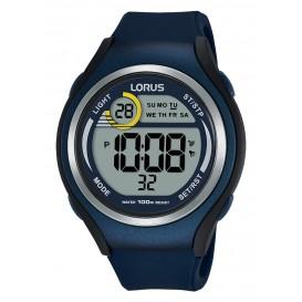 Lorus Herenhorloge Digitaal Siliconen blauw R2375LX9