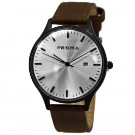 Prisma Horloge 1627.329F Heren Edelstaal P.1627.329F Herenhorloge 1