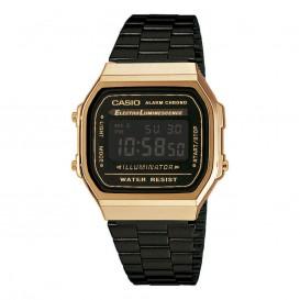 Casio A168WEGB-1BEF Retro Collection Illuminator horloge
