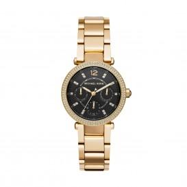 Michael Kors MK3790 Mini Parker 33 mm goudkleurig horloge