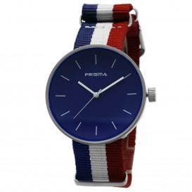Prisma Unisex-horloge P.1246.36WG Blauwe wijzerplaat