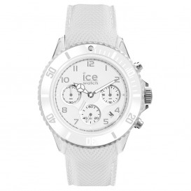 Ice-Watch IW014223 ICE Dune - Silicone - White - Exrta Large horloge
