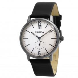 Prisma horloge P.1219 B611005 Heren Design Staal P.1219 Herenhorloge 1