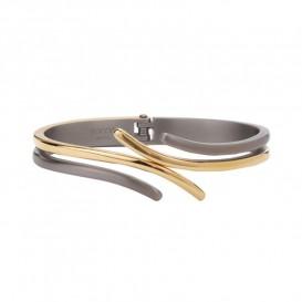 Boccia Titanium 0396-03 Bicolor armband met scharnier