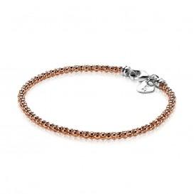 Zinzi ZIA1288R Zilveren armband roséverguld