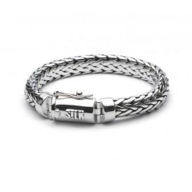 Silk Jewellery Armband zilver 'Shiva' 21 cm 303.21