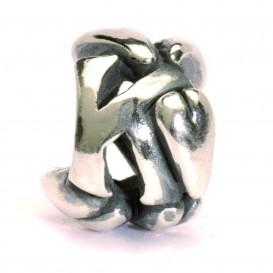 Trollbeads bedel zilver letter K TAGBE-10070