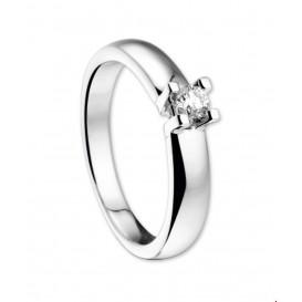 TFT Ring Diamant 0.15ct H SI Witgoud