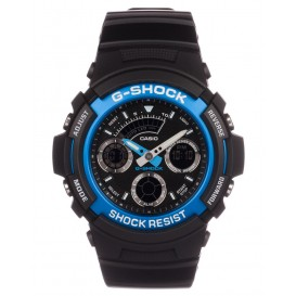 Casio G-Shock 46 mm blauw AW-591-2AER