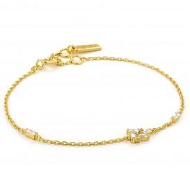 Ania Haie B018-02G Armband Cluster goudkleurig 16,5-20 cm