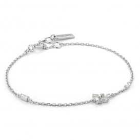 Ania Haie B018-02H Armband Cluster zilver 16,5-20 cm