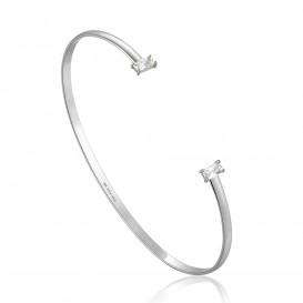 Ania Haie B018-03H Armband Bangle Glow Cuff zilver