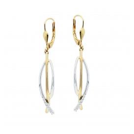 Glow Gouden Oorhangers Diamant 0.08ct. 208.0086.00