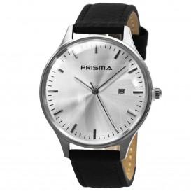 Prisma Horloge 1627.129F Heren Edelstaal P.1627.129F Herenhorloge 1