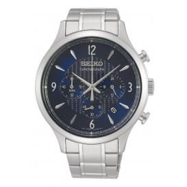 Seiko SSB339P1 Herenhorloge Chronograaf Blauwe wijzerplaat 43 mm