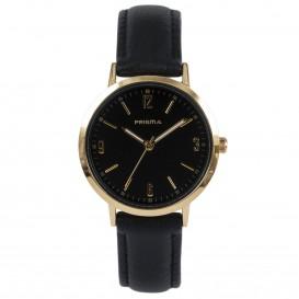 Prisma Horloge 1509 Dames Edelstaal Slimline P.1509 Dameshorloge 1