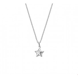 TFT Collier Witgoud Ster 1,0 mm 41 + 4 cm