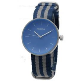 Prisma Unisex-horloge Simpel Licht Blauw Nato P.1244.25WG