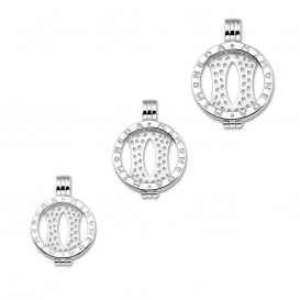 Mi Moneda PEN-01-L pendant silverplated