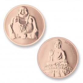Mi Moneda BUD-03 Buddha rosekleurig Large