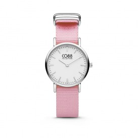 CO88 Collection 8CW-10039 - Horloge - nato band - roze - ø 26 mm