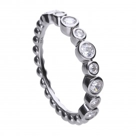 Diamonfire 814.0408.165 Ring zilver Maat 16,5