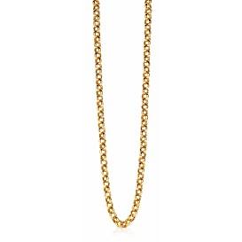 Zinzi ZIC1009G Ketting zilver goudkleurig 45 cm
