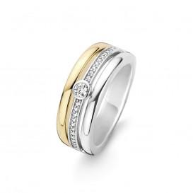 Ti Sento 12094ZY ring met zirkonia Maat 56 is 17.75mm