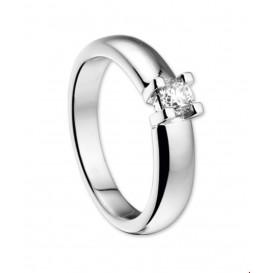 TFT Ring Diamant 0.25ct H SI Witgoud