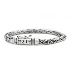 SILK Jewellery Armband zilver 'Shiva' 19 cm 372
