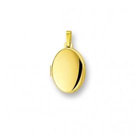 Huiscollectie 4005727 Gouden medaillon ovaal