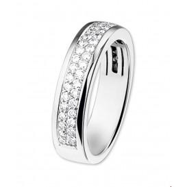 TFT Ring Diamant 0.50ct H SI Witgoud