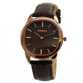 Prisma horloge P.1096 C813602 Dames Classic Staal Rosegoud P.1096 Dameshorloge 1