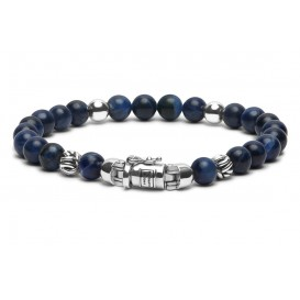 Buddha to Buddha Armband Spirit Bead Mini Blue Sodalite (D) 18 cm 189SO